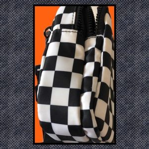 No Boundaries Bags - No Boundaries Black and White Crossbody Purse